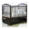 Детская кроватка Красная Звезда Регина C580, шоколад, купить за 22 200руб.