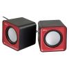 Компьютерная акустика Ritmix SP-2020, черно-красные, купить за 550руб.