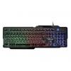 Клавиатура Qumo Cobra K30 черная, купить за 1 035руб.