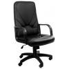 Компьютерное кресло Recardo Leader эко кожа, черное, купить за 4 228руб.