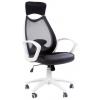 Кресло офисное Chairman 840 белый пластик TW11\TW-01 черный, купить за 7 455руб.
