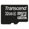 Transcend microSDHC 32Gb Сlass 4 + SD адаптер, купить за 1 065руб.