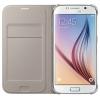 Samsung для Samsung Galaxy J5 (2016) Flip Wallet, золотистый, купить за 1 080руб.