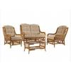 Кресло садовое Комплект для отдыха Мебель Импэкс Kelly-2 МИ цвет коньяк, купить за 58 765руб.