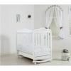 Детская кроватка Гандылян Мишель (качалка), белая, купить за 15 435руб.