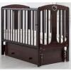 Детская кроватка Гандылян Диана (универсальный маятник), махагон, купить за 17 640руб.