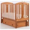 Детская кроватка Гандылян Диана (универсальный маятник), вишня, купить за 17 640руб.