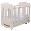 Детская кроватка Papaloni Modello (поперечный маятник), гоголь-моголь, купить за 16 440руб.