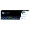 Картридж для принтера HP LaserJet 203A (CF541A), синий, купить за 6105руб.