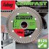 Алмазный диск Fubag Slim Fast_ диам 125/22.2, купить за 949руб.