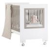 Детская кроватка Feretti Le Chic, белая/темно-серая, купить за 24 370руб.