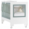 Детская кроватка Feretti Le Chic, bianco/мята, купить за 24 370руб.