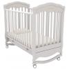 Детская кроватка Гандылян Шарлотта Люкс К-2003-2 (качалка), белая, купить за 16 590руб.