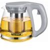Чайник заварочный Vitesse VS-4001, серый, купить за 925руб.