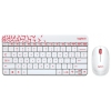Комплект Logitech Wireless Combo MK240 NANO (радиоканал - USB), белый, купить за 1 940руб.