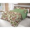 Комплект постельного белья Волшебная ночь, ранфорс, евро,  нав. 70x70*2, Nuts, купить за 2 510руб.