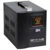 Стабилизатор напряжения IEK Home СНР1-0-1 кВА (релейный), купить за 2 990руб.