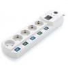 Сетевой фильтр Most EHV 5м (5 розеток) белый, купить за 1 340руб.