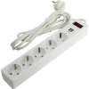 Сетевой фильтр Smartbuy (SBSP-30U-W) белый, купить за 785руб.