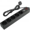Сетевой фильтр Smartbuy (SBSP-18U-K) черный, купить за 740руб.