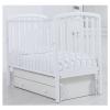 Детская кроватка Гандылян Дашенька (универсальный маятник) белая, купить за 12 600руб.