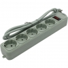 Сетевой фильтр ExeGate SP-5-1.5G светло-серый, купить за 325руб.