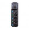 Сетевой фильтр Most EHV, черный, купить за 1 340руб.