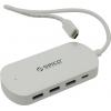 USB концентратор Orico (HCD-1-WH-PRO) белый, купить за 2 115руб.