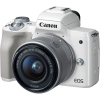 Цифровой фотоаппарат Canon EOS M50 Kit (15-45 IS STM) White, купить за 38 095руб.