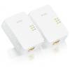 PowerLine-адаптер Комплект Zyxel PLA5405 v2-EU0201F Ethernet, купить за 5 080руб.