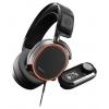 Гарнитура для пк Steelseries Arctis Pro + GameDAC, черная, купить за 21 000руб.