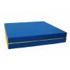 Мат гимнастический КМС № 10 (100 х 150 х 10), сине-жёлтый, купить за 2 230руб.