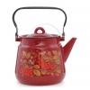 Чайник для плиты Стальэмаль 1с26я Рябина (3,5 л), вишневый, купить за 1 045руб.
