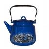 Чайник для плиты Стальэмаль 1с26я Вологодский сувенир, черный/синий, купить за 1 045руб.