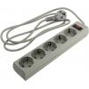Сетевой фильтр ExeGate (SP-5-1.5G) серый, купить за 340руб.