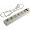 Сетевой фильтр ExeGate (SP-6-1.5W) белый, купить за 345руб.