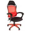 Игровое компьютерное кресло Chairman game 12, чёрное/красное, купить за 7827руб.