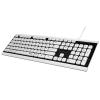 Клавиатура Hama Covo (R1173000) slim черно-белая, купить за 1 280руб.