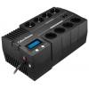 Источник бесперебойного питания CyberPower BR700ELCD 700VA/420W (4+4 Euro), купить за 5 460руб.