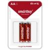 Батарейку Smartbuy Ultra alkaline SBBA-2A02B (2x AA/LR6, 1.5 В), купить за 285руб.