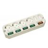Сетевой фильтр Удлинитель Most A16 3 м (6 розеток) белый, купить за 755руб.