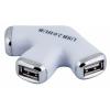USB концентратор PC Pet Paw (549519) белый, купить за 380руб.