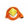 Удлинитель электрический PowerCube PC-E1-B-20 оранжевый, купить за 705руб.