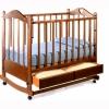 Детская кроватка Ведрусс Лана 2 Орех (колесо/качалка), купить за 4 870руб.