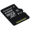 Карта памяти Kingston SDCS/64GBSP 64Gb (без адаптера), купить за 1 100руб.