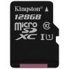 Карта памяти Kingston SDCS 128GB черная, купить за 2 140руб.