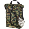 Рюкзак городской Hama Roll-Top 15.6, зеленый/камуфляж, купить за 2950руб.