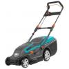 Газонокосилка Gardena PowerMax 1600/37, черный/голубой, купить за 10 950руб.