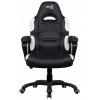 Игровое компьютерное кресло Aerocool AC80C AIR-BW, черно-белое, купить за 8 650руб.