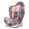 Автокресло детское Liko Baby LB-510 (до 25 кг), серое/камуфляж, купить за 5 715руб.